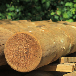 Machine Round Timber