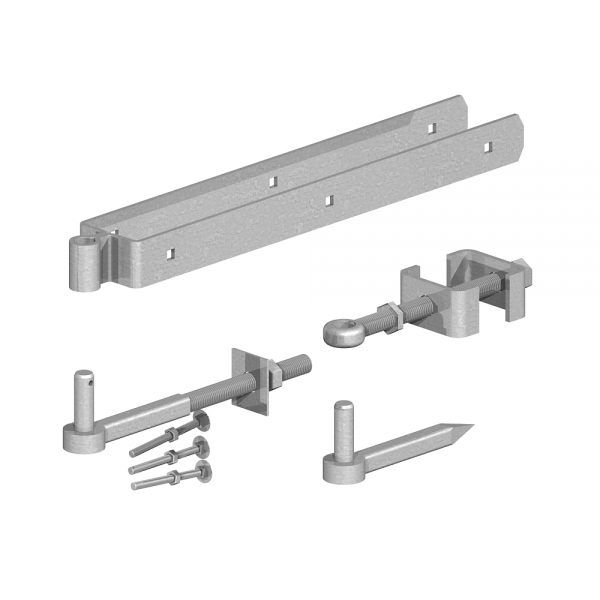 Adjustable Hinge Set Galv